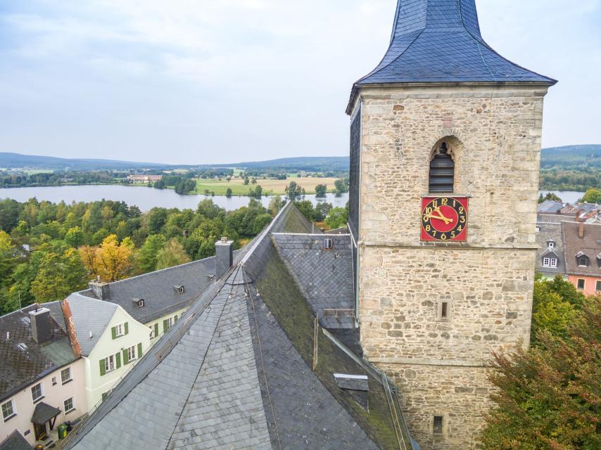 Kirchturm Weißenstadt - TI Weißenstadt