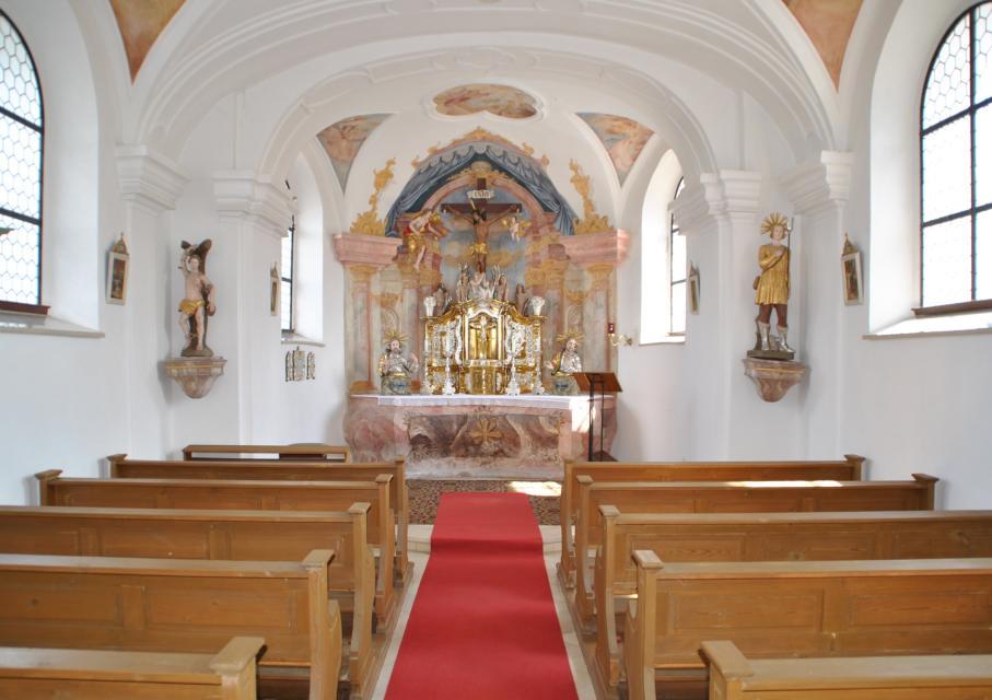 Barocke Friedhofskapelle Maria Hilf