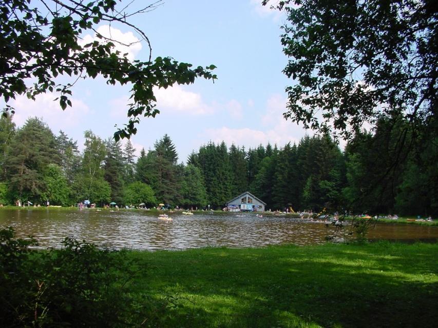 Waldbad Tröstau Petzelweiher