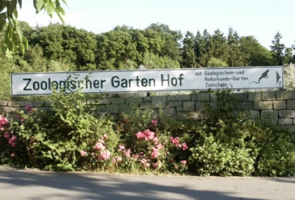 Zoologischer Garten Hof/ Geologischer Garten Hof