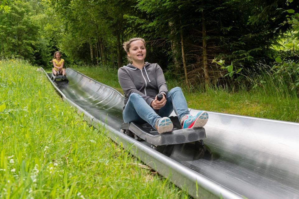 Sommerrodelbahn am Ochsenkopf