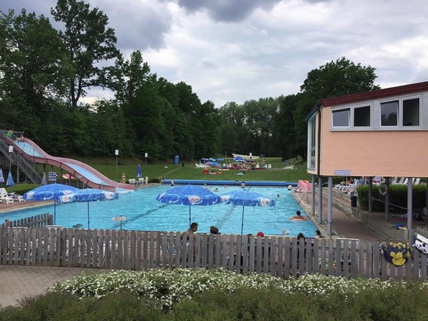 ab 01. Juli geöffnet - Freibad Erbendorf