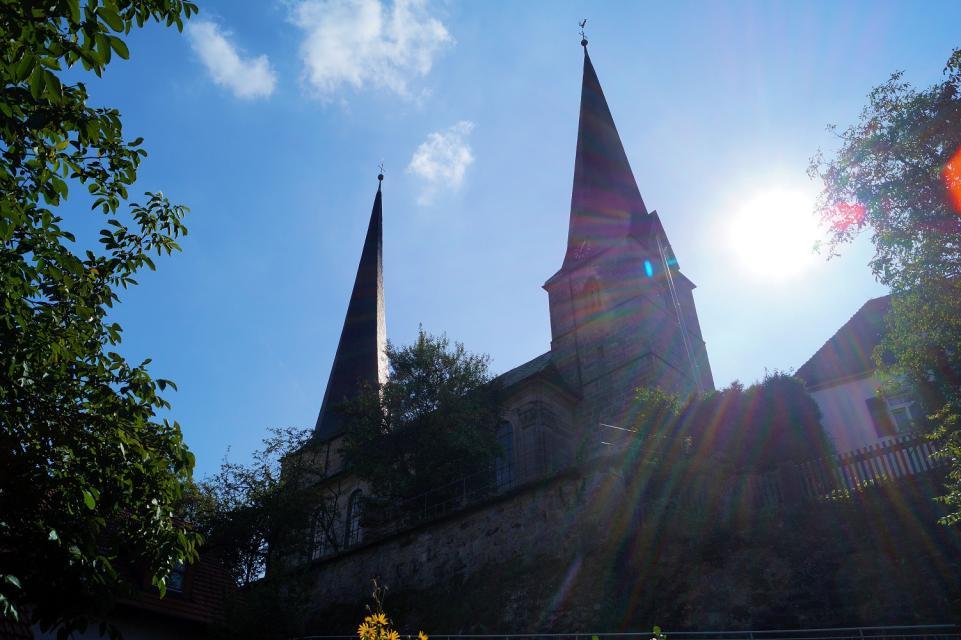 """Markgrafenkirche """"Unserer Lieben Frau"""" Nemmersdorf"""