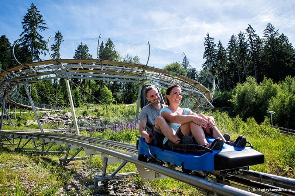 Ganzjahres-Rodelbahn Alpine Coaster