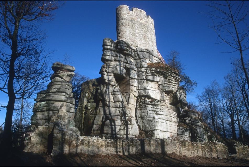 Klettern in der Steinwaldhalle