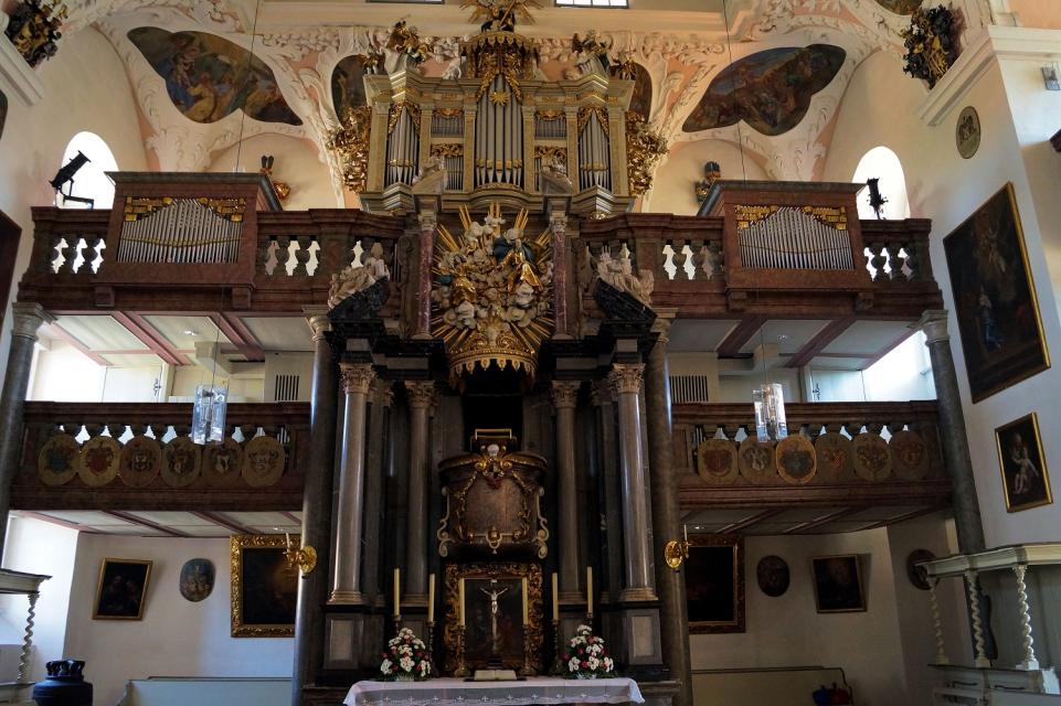 Markgrafenkirche Ordenskirche St. Georgen