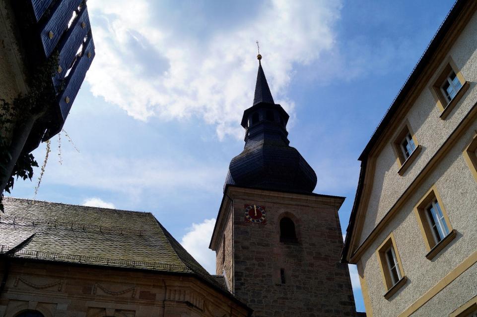 Markgrafenkirche Dreifaltigkeits-Kirche Bad Berneck