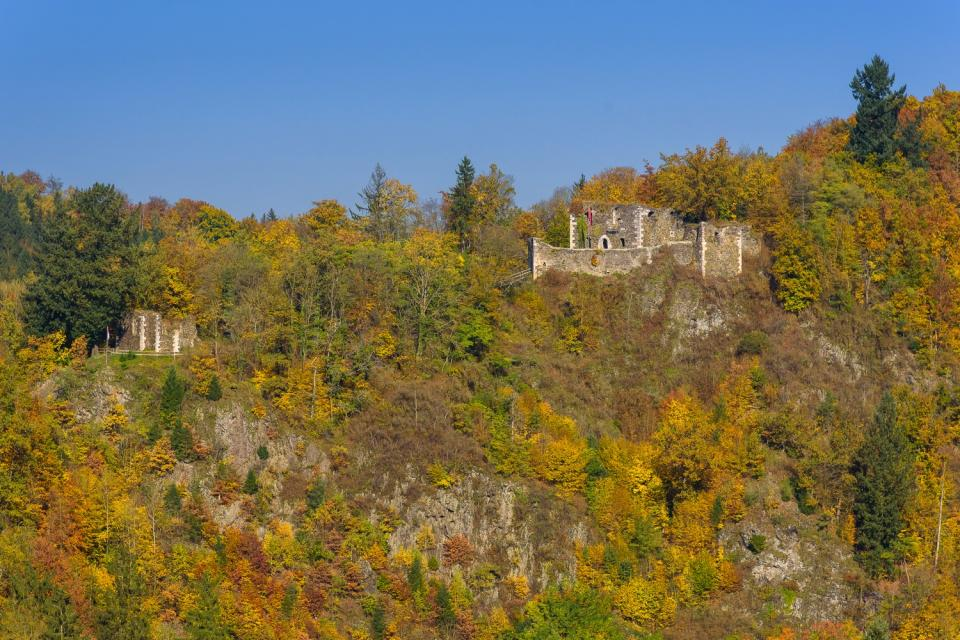 Burg Hohenberneck und Marienkapelle - Florian Fraaß