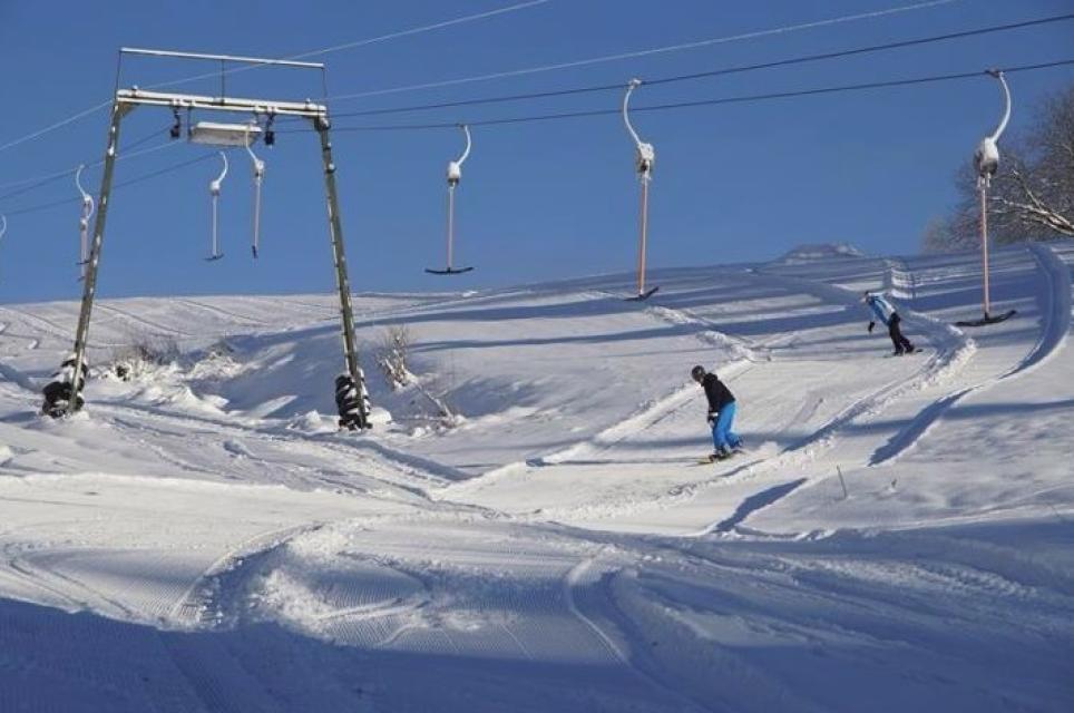 Snowboard-Park am Geiersberglift