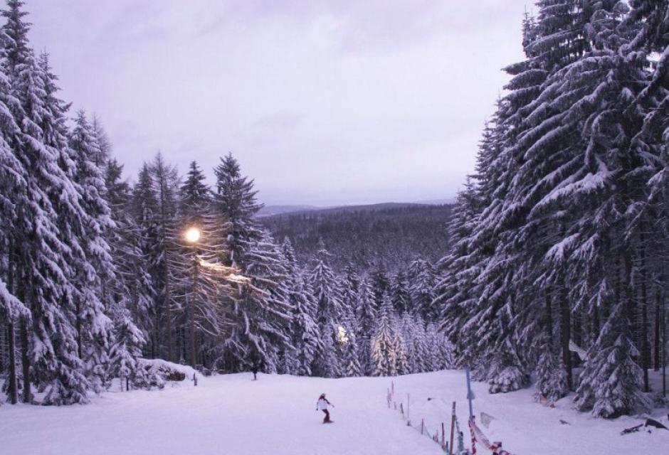 Snowboard-Funpark am Kornberg