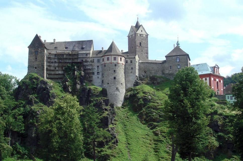 Burg Loket (Elbogen)