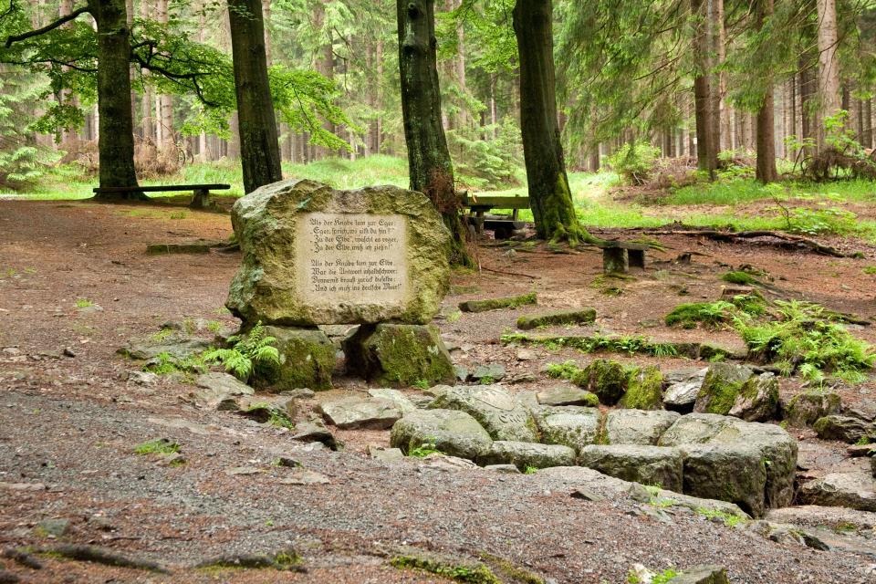 Quellenweg Münchberg - Egerquelle