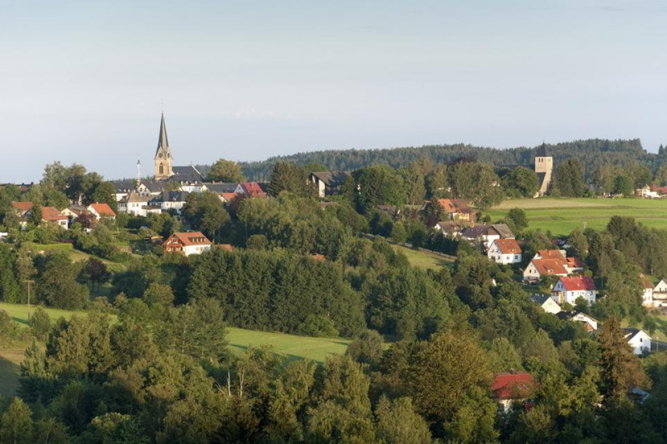 Blick vom Fröbershammer Richtung Bischofsgrün - A. Hub