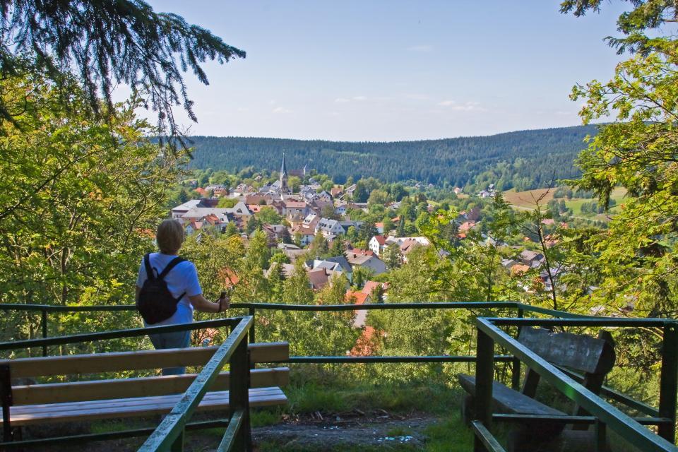 Aussichtspunkt Hügelfels - Fotoclub Arzberg