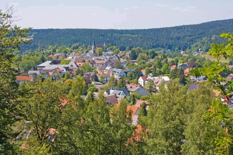 Blick Richtung Bischofsgrün - Fotoclub Arzberg