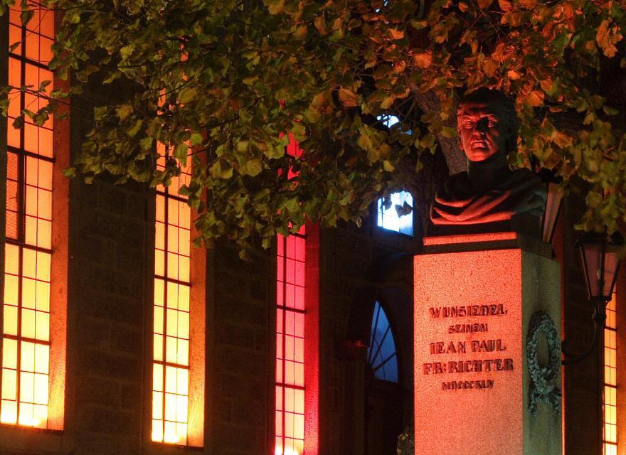 Jean Paul Weg gesamt: Von Joditz bis Sansparail