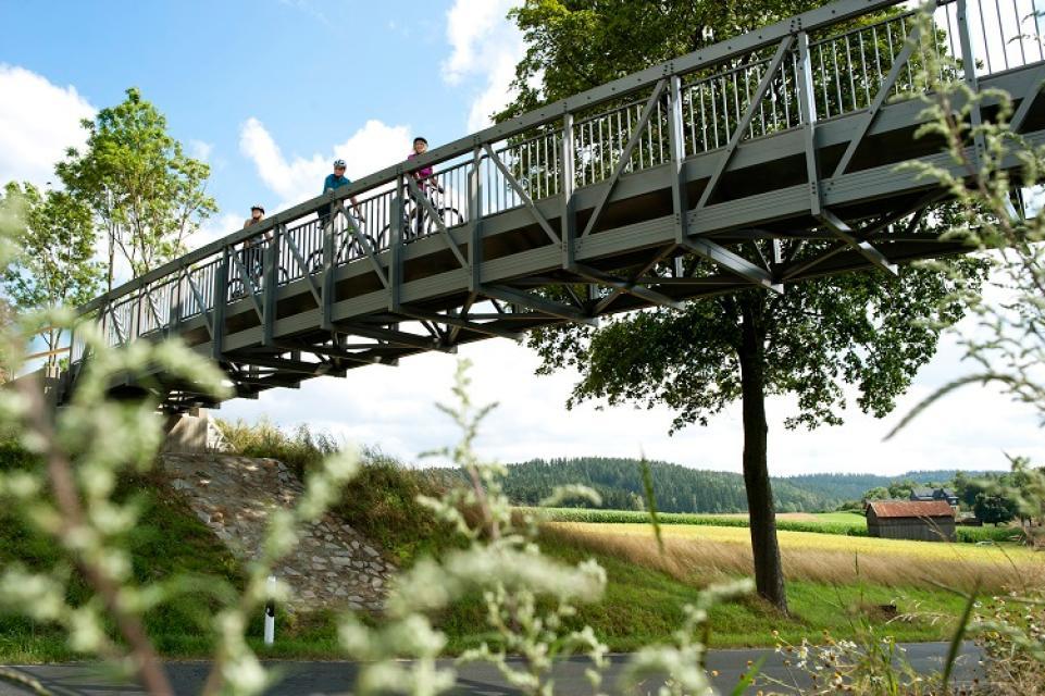 Brückenradweg Bayern-Böhmen