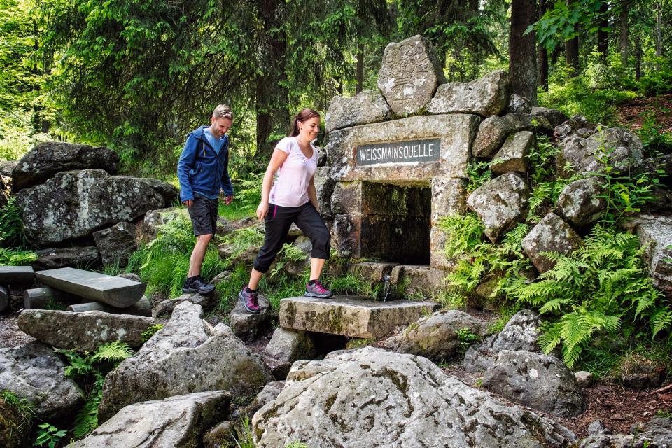 Fränkischer Gebirgsweg - Abschnitt Südliches Fichtelgebirge: Von Neusorg bis Bayreuth