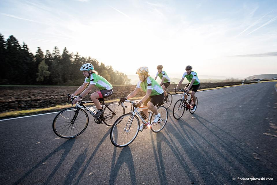 Rennrad - Tour 12: Durch das Dreiländereck