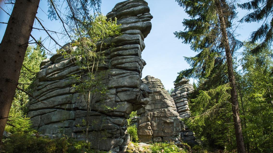24. Rundweg 3: Zum Rudolfstein und den Drei-Brüder-Felsen