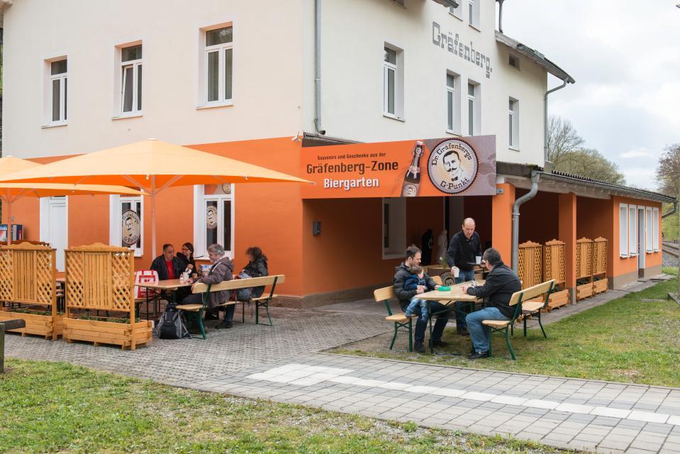"""Biergarten & Fahrradverleih """"Gräfenberg-Zone"""""""