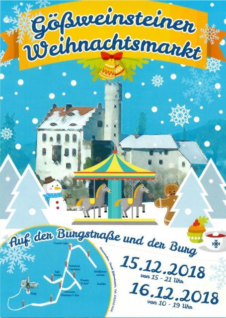 Weihnachtsmarkt in Gößweinstein
