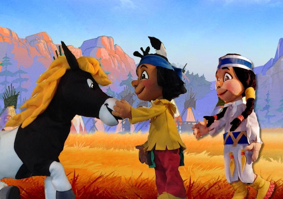 Figurentheater: YAKARI – Der kleine Indianerjunge