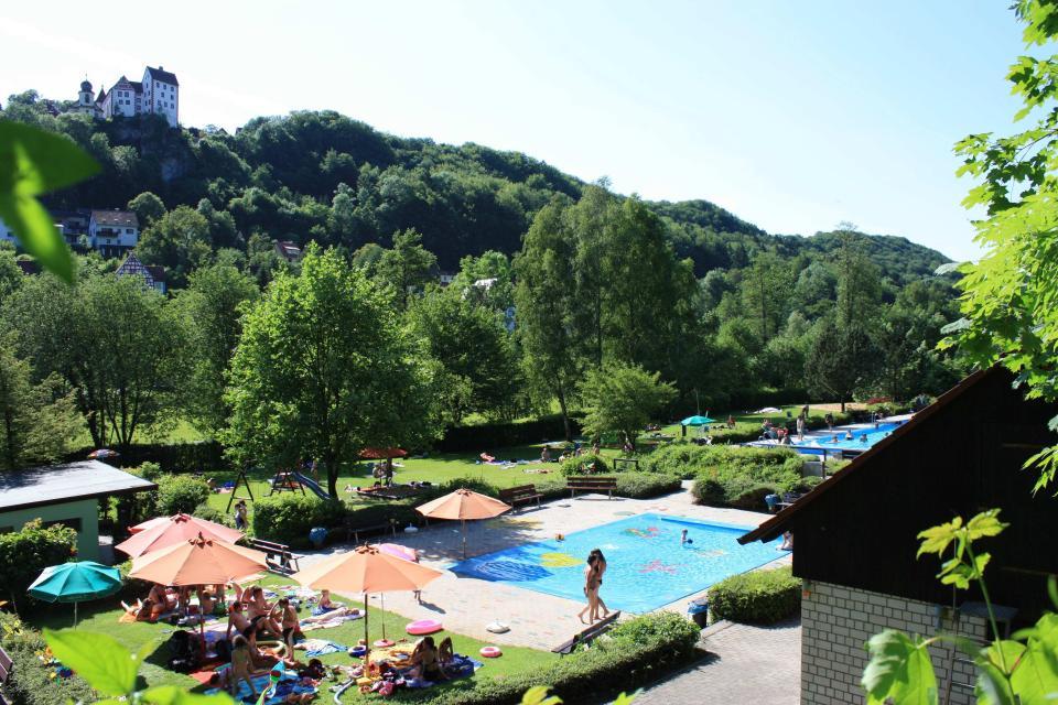 großes Freibadfest in Egloffstein