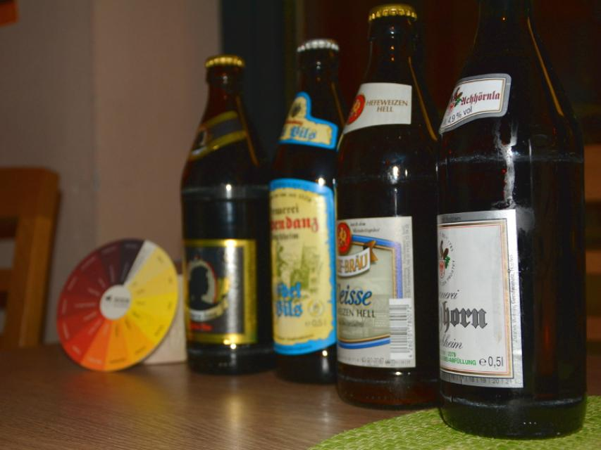 Kulinarische Bierverkostung