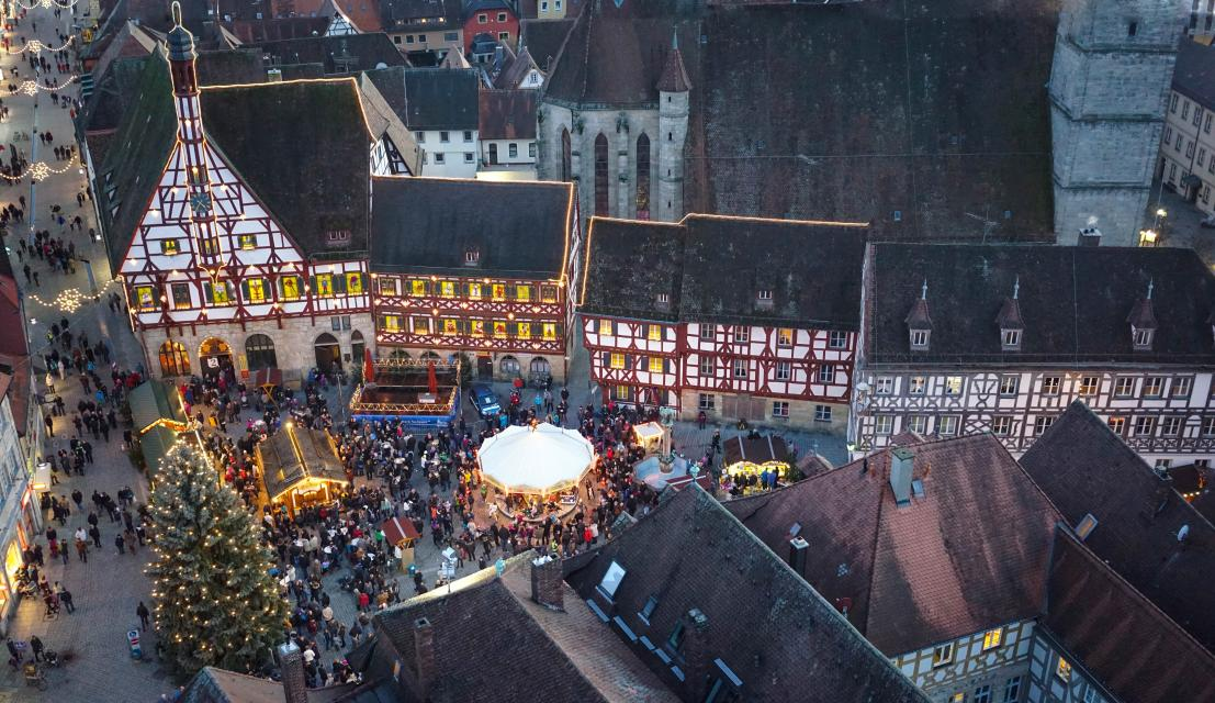 Weihnachtsmarkt Forchheim