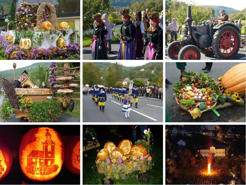 Erntedank- und Kürbisfest