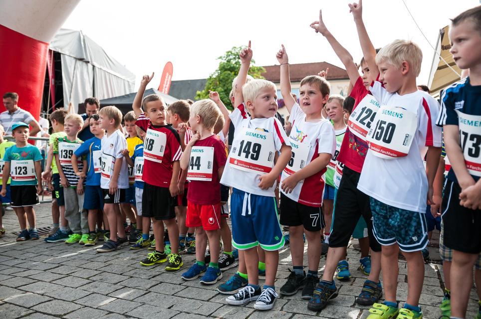 Schülerläufe beim 20. Fränkische Schweiz-Marathon