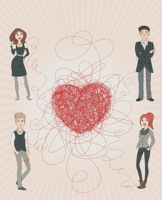 Das Spiel von Liebe und Zufall