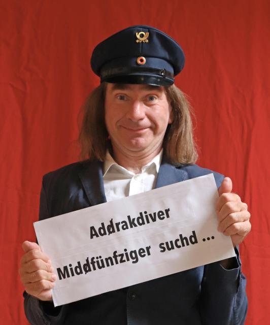Addraktiver Middfünfziger sucht...