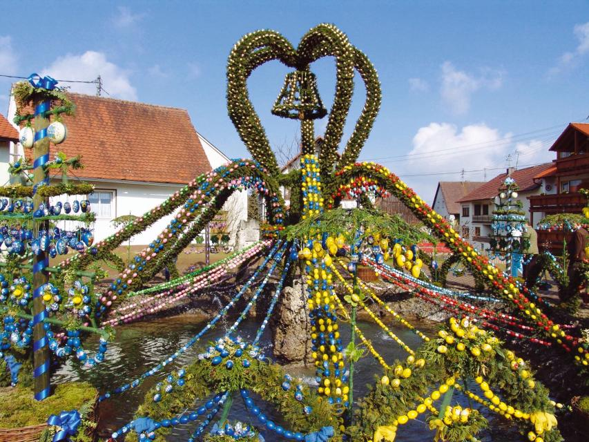 Osterbrunnen Bieberbach