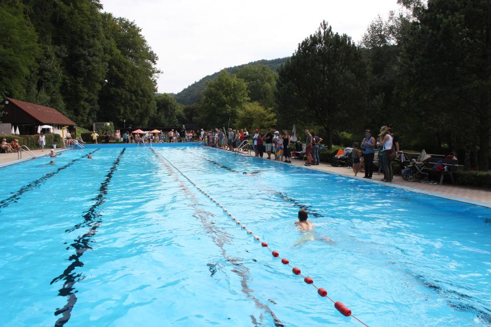 Triathlon des SCE (Schwimmbad und Sportplatz)