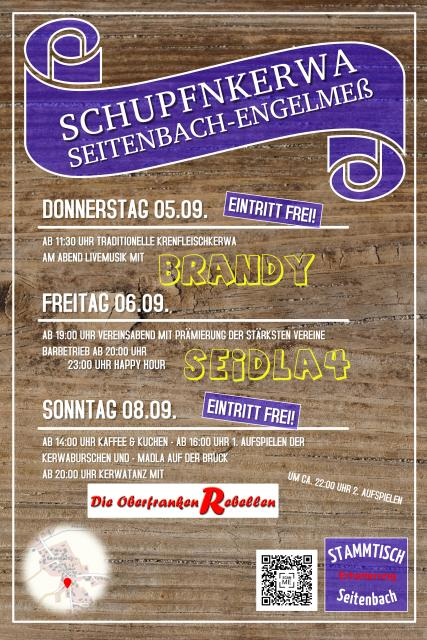 Schupfenkerwa Seitenbach-Engelmeß