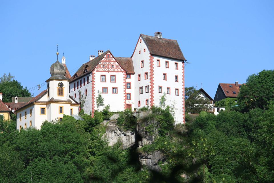 Burgführung Egloffstein mit dem Burgherren