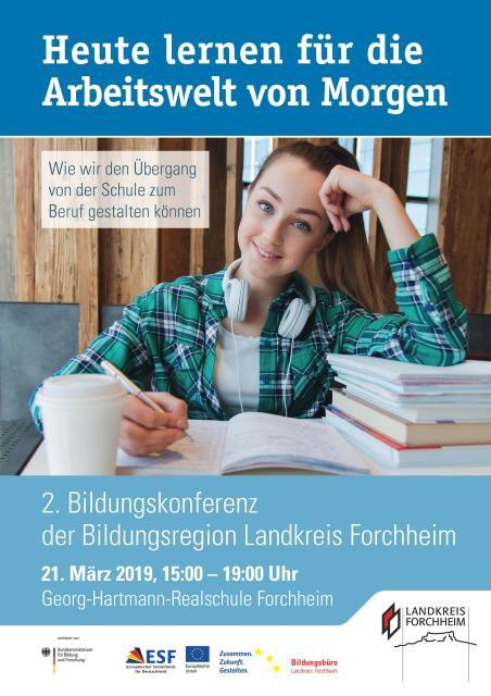 Zweite Bildungskonferenz der Bildungsregion Landkreis Forchheim