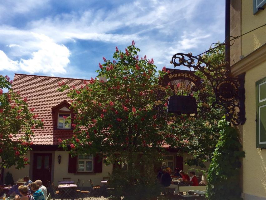 Brauerei Sauer Roßdorf a.F. Ansicht - Brauerei Sauer Roßdorf a.F.