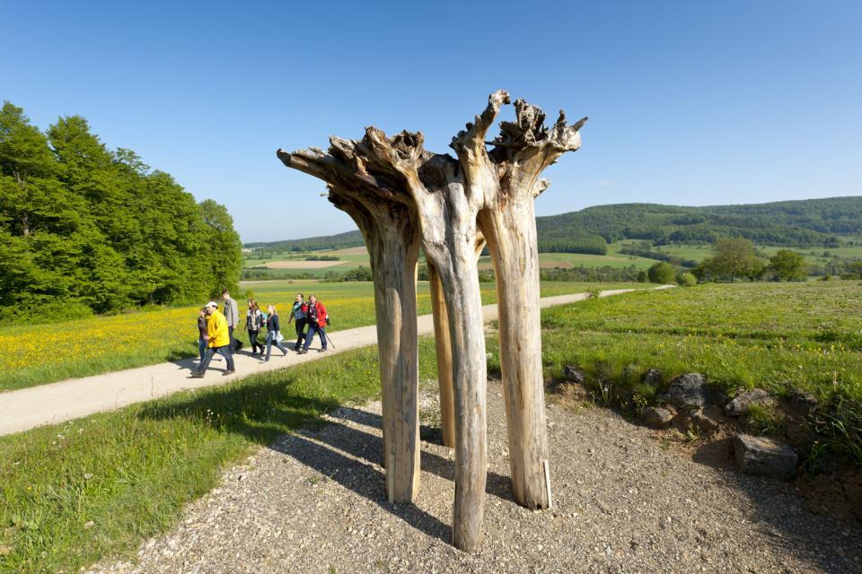 Wandern im Landkreis Bamberg - FrankenTourismus/A. Hub