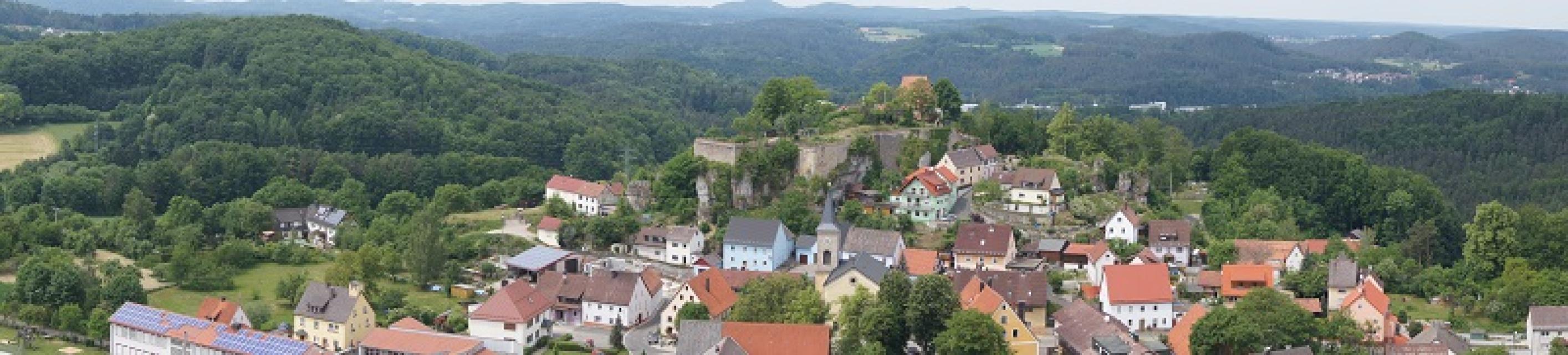 Panoramaansicht von Hartenstein - Gemeinde Hartenstein
