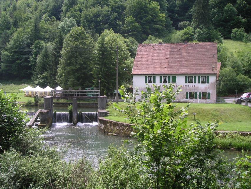 Biergarten Sachsenmühle