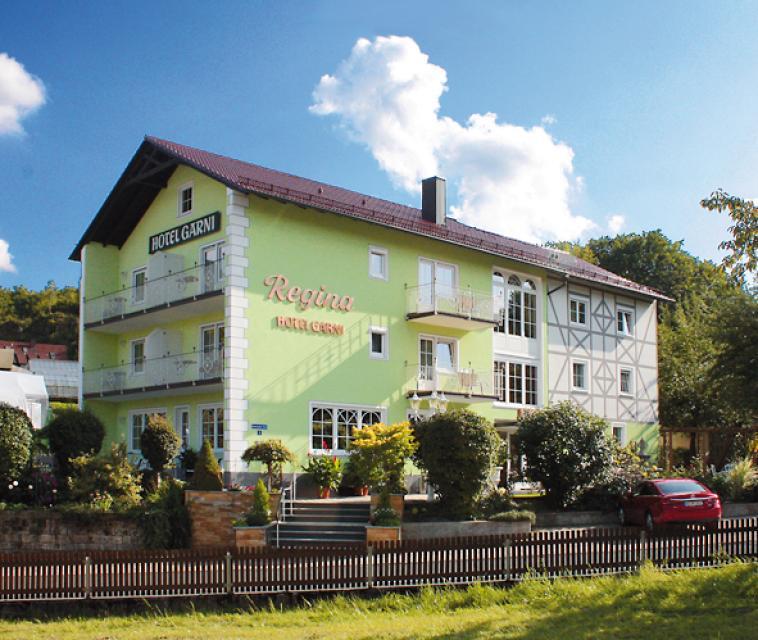 Haus Seeblick Hotel Garni Ferienwohnungen: Hotel Garni Regina