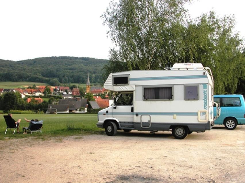 Wohnmobilstellplatz Lohndorf