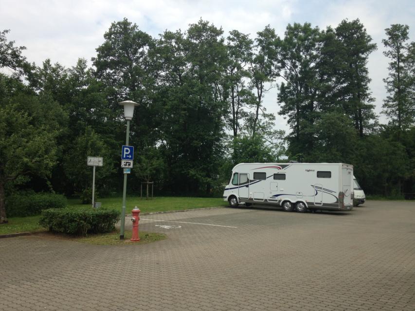 Wohnmobilstellplatz Memmelsdorf Seehofblick