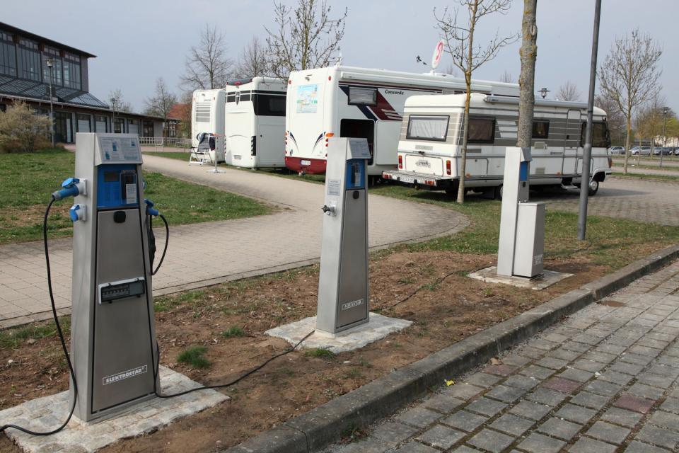 Wohnmobilstellplatz Hirschaid