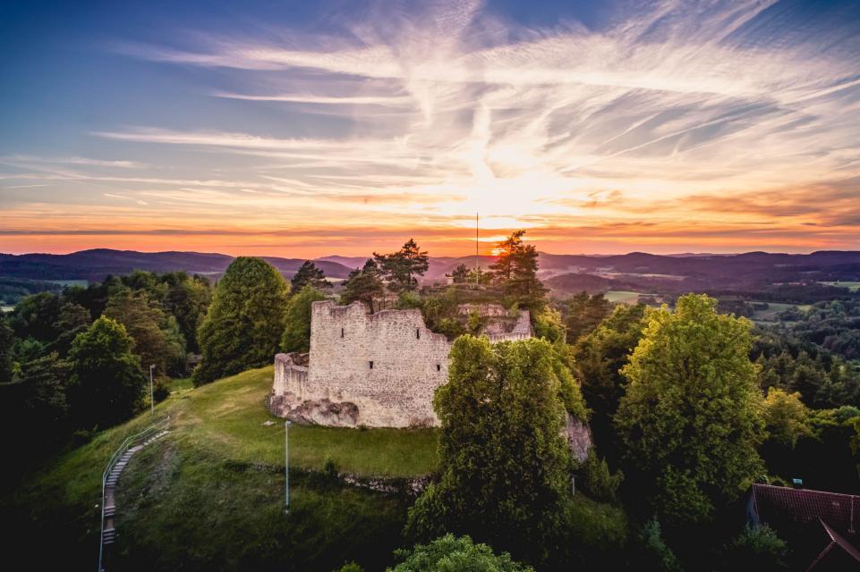 Lichtenegg Sonnenuntergang - ©Stephan Böhm