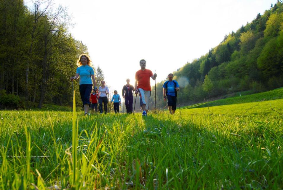 Nordic-Walking Bayernwerk Aktiv- und Gesundheitspark Trubachtal