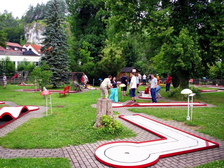 Minigolf Pottenstein